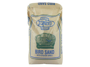 Jondo Bird Sand with Oyster Shell 25kg