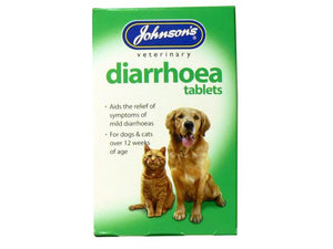 Johnsons Vet Diarrhoea 12 Tablets