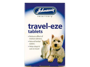 Johnsons Vet Travel-Eze Tablets for Cats/Dogs
