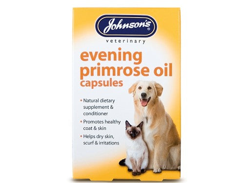 Johnsons Vet Evening Primrose Oil 60 Capsules