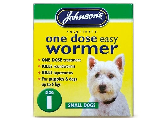Johnsons Vet Easy One Dose Wormer