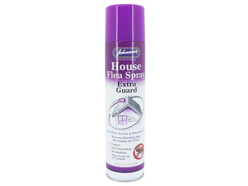 Johnsons Vet House Flea Spray Extra Guard