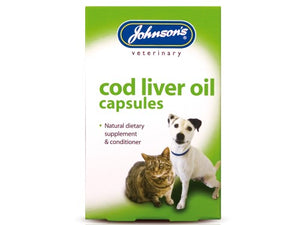 Johnsons Vet COD Liver Oil 40 Capsules