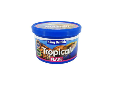 King British Tropical Fish Flake