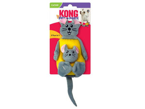 Kong Pull-A-Partz Cheesy Cat Toy