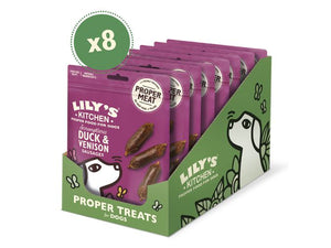 Lily's Kitchen Proper Duck & Venison Sausages Food for Dogs 70g