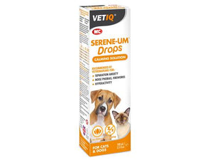 M&C VetIQ Serene-Um Drops Calming Solution for Cats/Dogs 100ml