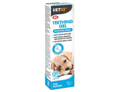 M&C VetIQ's Teething Gel 50g
