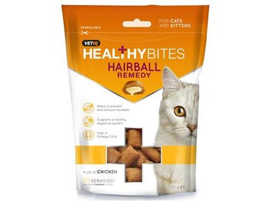 M&C Cat Healthy Bites Hairball Remedy