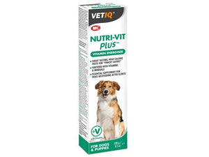M&C VetIQ Nutri-Vit Plus Vitamin Energiser for Puppies/Dogs 100g