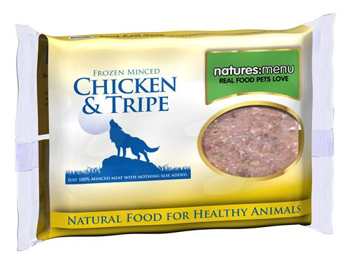 Nature's Menu Frozen Chicken & Tripe Mince