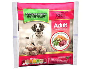 Nature's Menu Frozen Nuggets Beef & Vegetables 1kg