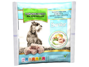Nature's Menu Frozen Nuggets Senior Chicken & Fish 1kg