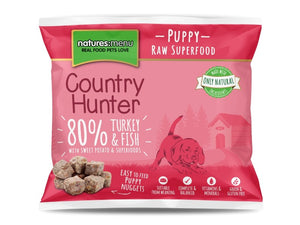 Nature's Menu Hunter Frozen Puppy Nuggets 1kg