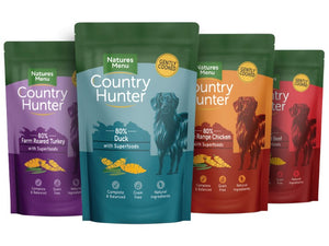 Nature's Menu Country Hunter Dog Multi-Pack Pouches 12X150g