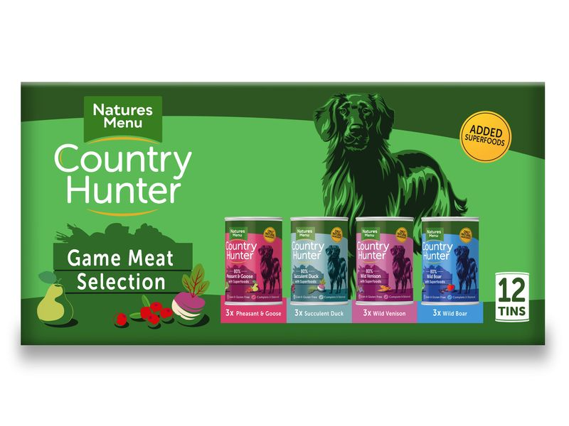 Nature's Menu Country Hunter Game Multi 12x400g
