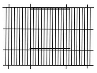 Pennine Finch Cage Front 24x12
