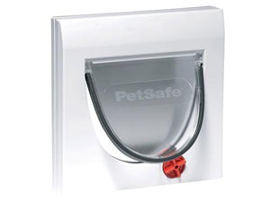 Petsafe Staywell 4-Way Cat Flap White (with tunnel)
