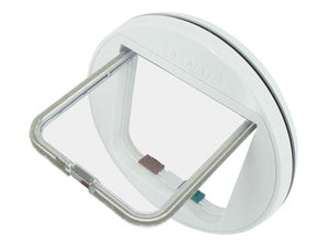 Pet Mate Catmate Glass Fitting 4-Way Cat Flap