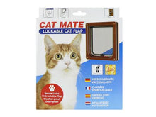 Load image into Gallery viewer, Pet Mate Catmate Lockable Cat Flap Brown