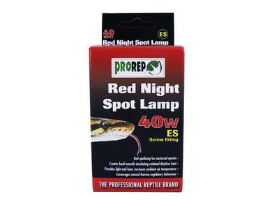ProRep Red Night Spot Lamp ES