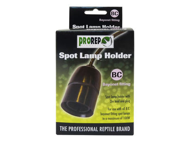 Prorep Bayonet Lamp Fitting with Plug