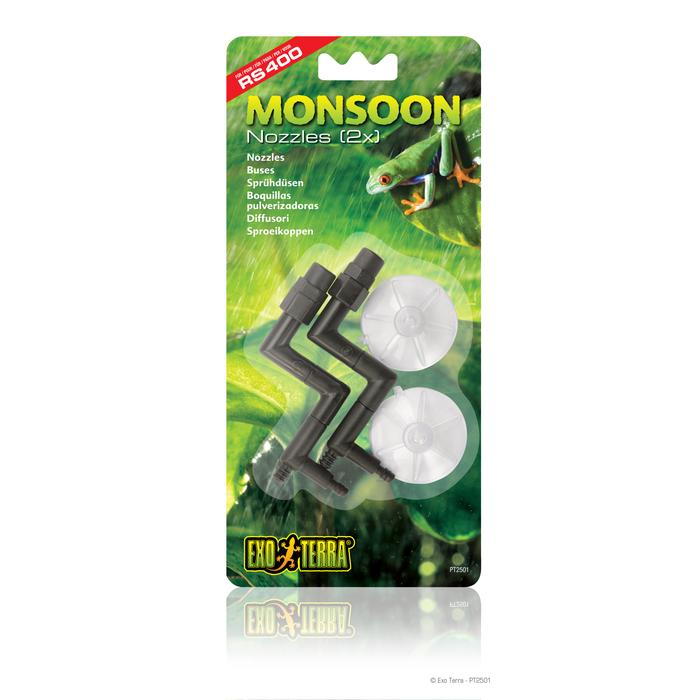 Exo Terra Monsoon Nozzles (1 Pack of 2 Piece), PT2501