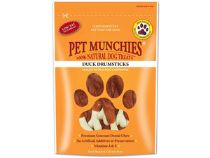 Pet Munchies Duck Drumsticks 100g