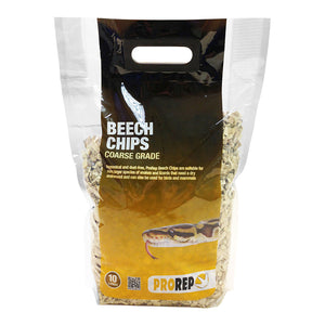 PR Beech Chips Coarse, 10 Litre - Creepy Critters
