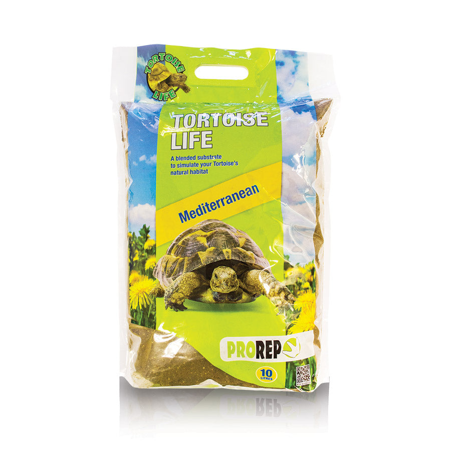 PR Tortoise Life Substrate, 10 Litre - Creepy Critters