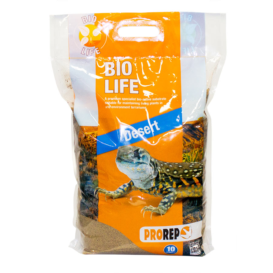 PR Bio Life DESERT Substrate, 10 litre - Creepy Critters