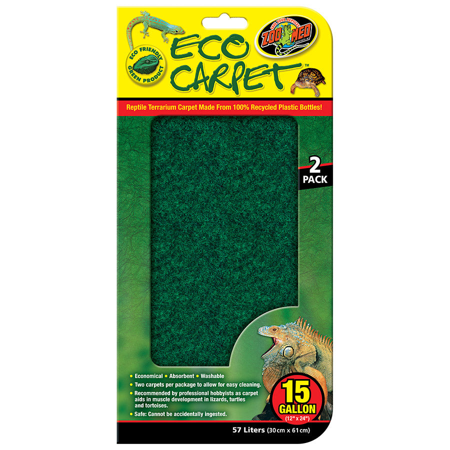 ZM Eco Cage Carpet 15-20 Gal, CC-15 - Creepy Critters