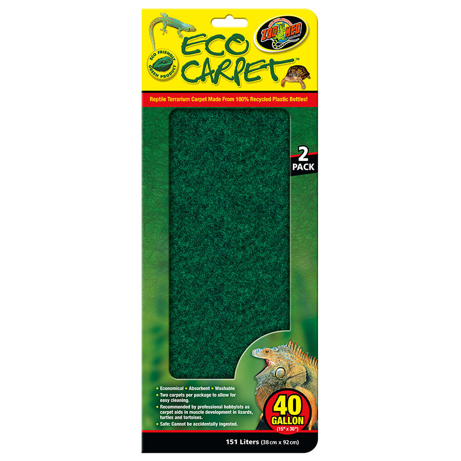 ZM Eco Cage Carpet 40 Gal, CC-40 - Creepy Critters