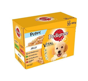Pedigree Puppy Pouch 12 Pack - Creepy Critters