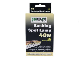 Basking Spot Lamp 40W - Creepy Critters