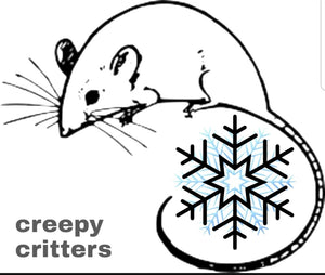 Frozen Mice - Creepy Critters