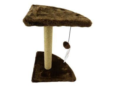 Brown Sisal Corner Cat Scratching Post