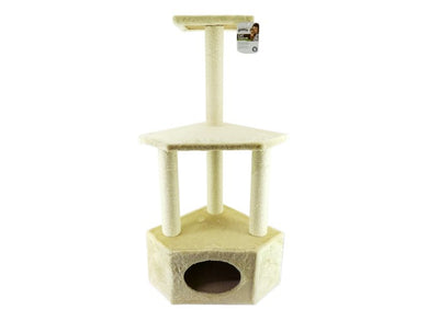 CAT CORNER TALL SCRATCH POST ROME 108CM - Creepy Critters