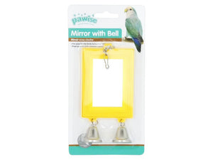 Pawise Mirror with Bell 13cm