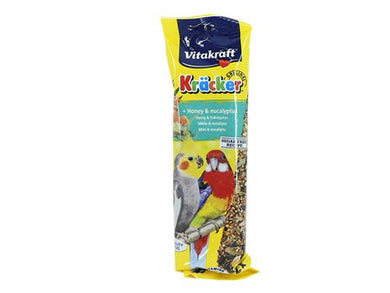 Vitakraft Kracker for Cockatiel Honey Sticks