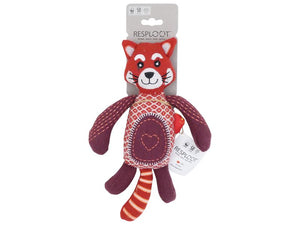 Resploot Red Panda Dog Toy 32x25cm (no squeak)