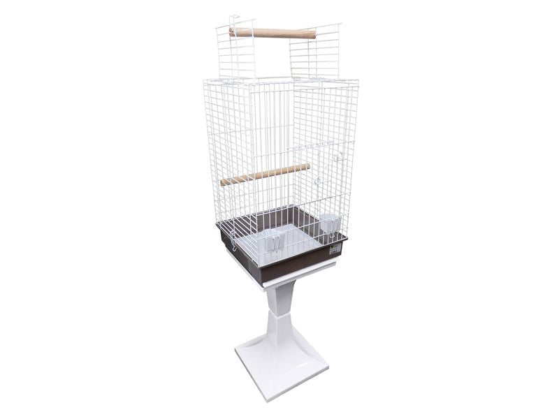 Black Friday Only- LEXELL PARROT OPEN TOP CAGE W/STAND - Creepy Critters