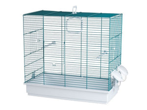 Voltrega Bopp Bird Cage Suitable for Budgies, Finches and Canaries 50cm