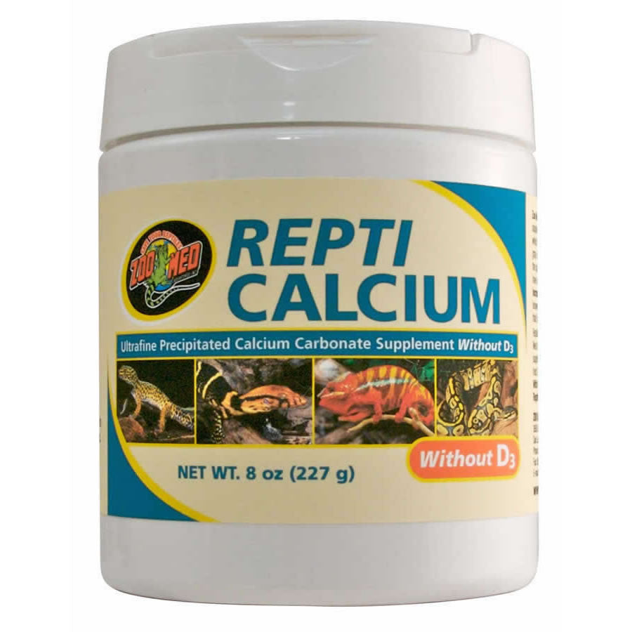 ZM Repti Calcium WITHOUT D3 227g, A33-8 - Creepy Critters