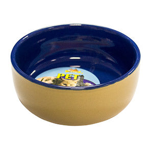 "Ceramic Pet Bowl 4.5"" - Creepy Critters"