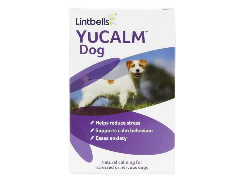 Lintbells YuCalm Dog Natural Calming for Stressed/Nervous Dogs