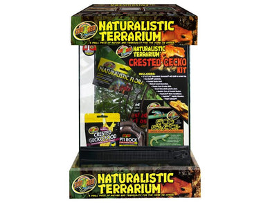 Zoo Med Naturalistic Terrarium Crested Gecko Kit