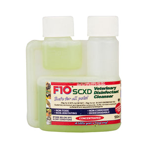 F10 SCXD Veterinary Disinfectant/Cleanser 100ml - Creepy Critters