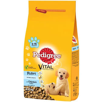 Pedigree Puppy chicken 2.2KG - Creepy Critters