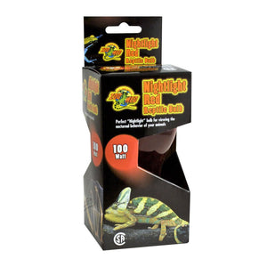 Zoo Med Nightlight Red Reptile Bulb Screw